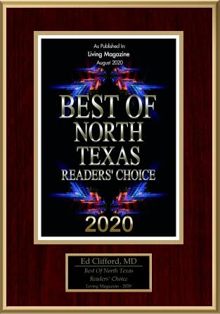 Dr. Clifford Surgical Group of North Texas wins readers choice award for best surgeon